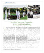 QB Article - Corporate Summer events