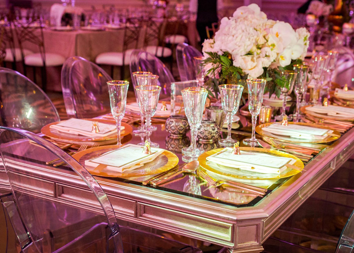 Gold-and-purple-wedding-tables