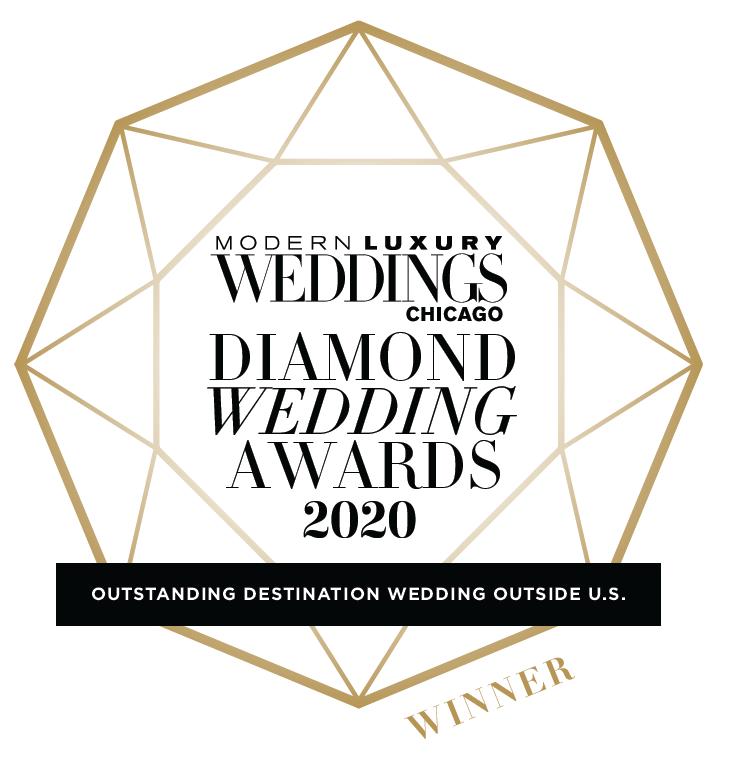 Modern Luxury Weddings - Diamond Award 2020