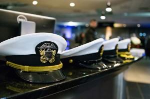 USS Illinois sign