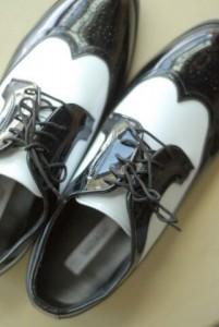 Barn wedding shoes
