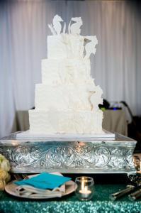Christina Currie Events-wedding cake